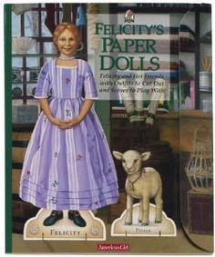 American Girl - Felicity Paper Dolls (2)