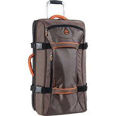 b16fd587b66 Timberland Luggage Twin Mountain 26 Inch Wheeled Duffle Italian Leather  Handbags, Luggage Sets, Satchel