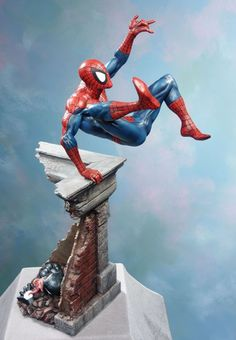 Spider-Man Modern statue Sculpted by: John Cleary  Release Date: December 2005 Edition Size: 1750 Order Of Release: Phase II (bust #56)