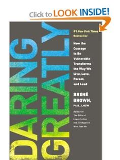 Brené Brown is beyond inspirational. http://http://www.brenebrown.com/