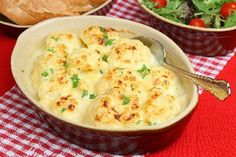 Oven-Roasted Cauliflower with Garlic - from Kitch Me  http://recipesjust4u.com/oven-roasted-cauliflower-with-garlic/