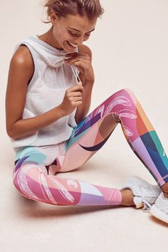 Pure + Good Phila Colorblock Leggings