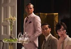 the great gatsby pink suit