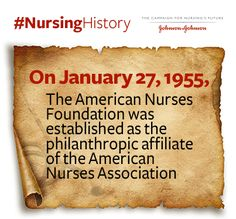 In 1955, the American #Nurses Foundation was established by @americannurses #NursingHistory