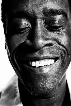 Don Cheadle (1964) - American actor and producer. Photo © Michael Muller
