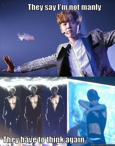 Now Luhan.. Even though that's really hot.. It doesn't change your personality