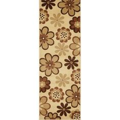 Safavieh Porcello Daisies and Sunflowers Area Rug, White
