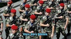 """"""" GLORY, GLORY, ALLELUIA """" - Chant militaire - Musique militaire / Franc..."""