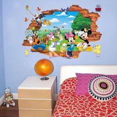 Disney Mickey & Friends Wall Stickers – the treasure thrift