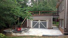 Garage Roof Deck Plans, backyard deck designs inspiring home interior decor ideas garage design ideas . Garage Roof, Garage Pergola, Cheap Pergola, Garage House, Dream Garage, Rooftop Patio, Patio Roof, Pergola Patio, Pergola Ideas