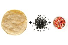 """This snack provides a double-dose of slowly-digested fiber—a top ally when trying to lose weight,"" says Ansel. A half-cup of black beans contains 8 grams of fiber, plus 2 more from a 100-percent whole-grain 6-inch corn tortilla. Spicy salsa has few calories and helps you eat more slowly, increasing the likelihood that you'll walk away when you're full.     - Redbook.com"