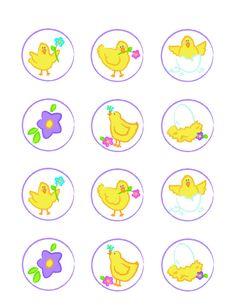 Spring Chick Printables - FREE!