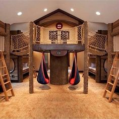 19 Amazing Dream Playrooms dream house luxury home house rooms bedroom furniture home bathroom home modern homes interior penthouse Dream Rooms, Dream Bedroom, Bedroom Fun, Bedroom Decor, Bedroom Furniture, Kid Furniture, Furniture Design, Bedroom Lighting, Teen Bedroom