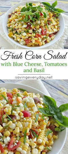 My fresh corn salad is light, healthy, and flavorful! It's a perfect side dish for BBQs, tailgate parties, or picnics – or you can just eat it straight out of the bowl like me!