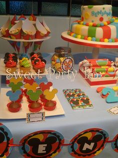 Mickey Mouse Party Birthday Party Ideas | Photo 4 of 5 | Catch My Party
