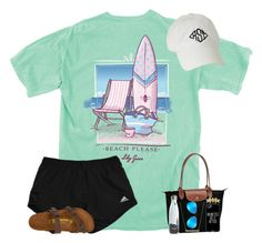 """""""RTD for my day so far"""" by erinleigh02 ❤ liked on Polyvore featuring Birkenstock, Longchamp, Casetify, BROOKE GREGSON, S'well, ki-ele, Ray-Ban and country"""