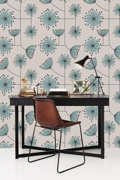 Removable Dandelions Wallpaper/Wallpaper/Peel And Stick Wallpaper/Self  Adhesive Wallpaper/Dandelions Wallpaper S0118
