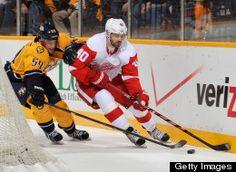 Go Detroit Red Wings!!! Henrick Zetterberg #40