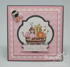 Stampin' Up! Stamping T! - Two by Two Card