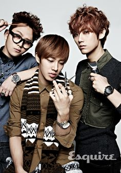 Esquire Korea - December 2012 (BEAST)