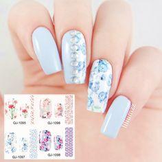 $2.13 1 Box 10ml Gradient Nail Glitter Tips Shining Mixed Color Nail Decoration - BornPrettyStore.com