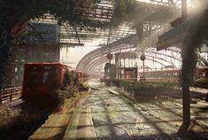 Post Apocalypse – Deux artistes imaginent les ruines des lieux célèbres (image)