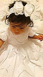 Aqui você encontra vestidos infantis de zero a 4 anos, batizados, daminhas e enxoval quarto de bebê. Para casa temos jogos americanos e toalhas de mesa.