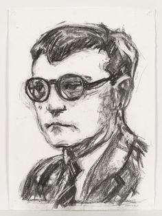 Shostakovich by William Kentridge