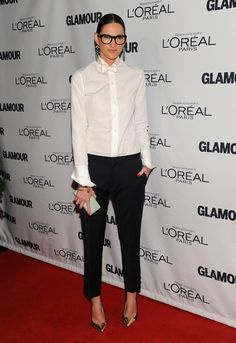 One of Glamour's Women of The Year, Jenna Lyons. My boss is cooler than your boss...