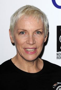 Annie Lennox attends the Nordoff Robbins O2 Silver Clef Awards at London Hilton on July 1, 2011 in London, England. (June 30, 2011 - Source: Eamonn McCormack/Getty Images Europe) | | Short Hair LookBook on StyleBistro || Ms Lennox has always been ahead of the trends.