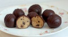 Chocolate Chip Cookie Dough Truffles - Sweet Treat Eats