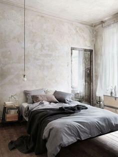 Men's Bedroom Design, Industrial Bedroom Design, Home Decor Bedroom, Bedroom Ideas, Bedroom Inspiration, Industrial Style, Industrial Living, Design Room, Bedroom Furniture
