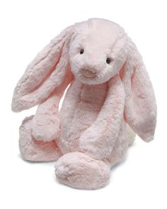 Bashful Plush Chime Bunny, Pink by Jellycat at Bergdorf Goodman.