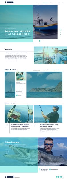 Coming soon: Fishing Responsive Template. Check out its release here: http://www.templatemonster.com/?utm_source=pinterest&utm_medium=timeline&utm_campaign=comsoon