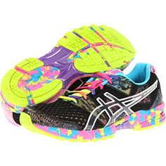Someone please buy these for me for Christmas in the Flash Yellow/Flash Pink/ Multi color ASICS GEL-Noosa Tri™ 8 Cute Running Shoes, Running Sneakers, Asics Gel Noosa, Workout Gear, Workout Shoes, Workouts, Free Clothes, Sports Shoes, Cool Watches