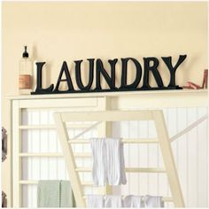 Laundry room drying racks