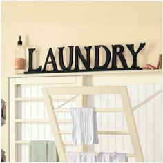 Laundry room drying racks