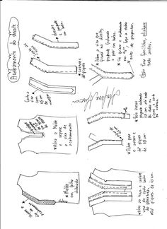 Amazing Sewing Patterns Clone Your Clothes Ideas. Enchanting Sewing Patterns Clone Your Clothes Ideas. Sewing Basics, Sewing Hacks, Sewing Tutorials, Sewing Blouses, Sewing Shirts, Techniques Couture, Sewing Techniques, Make Your Own Clothes, Diy Clothes