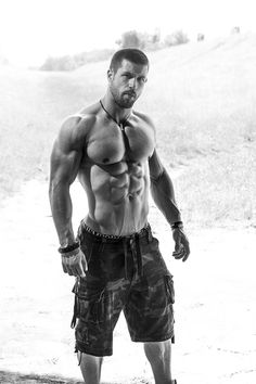 Croatian model and personal trainer Robert Blazevic
