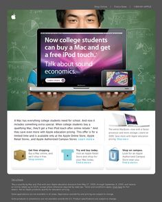 Beautiful Email Newsletters » Blog Archive » Apple College