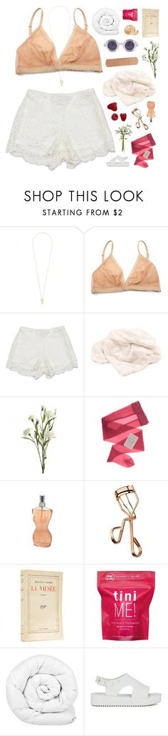 """""""~ mon amour, sweet child of mine, you're divine. didn't anyone ever tell you it's okay to shine?"""" by annamari-a ❤ liked on Polyvore featuring Noor Fares, Ganni, Sans Souci, Chanel, Gerbe, Jean-Paul Gaultier, Tweezerman, Me! Bath, Brinkhaus and Melissa"""