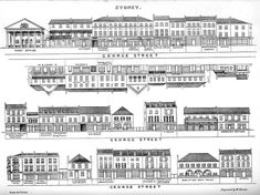 In 1848, Joseph Fowles created the book 'Sydney in 1848', a pictorial representation of Sydney streets and principal buildings at the time, accompanied by descriptions. Fowles was motivated by a desire to show Sydney as he perceived it, a busy city of grand buildings, rather than the rough backwater those in London believed it to be.