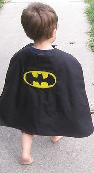 **Made some of these a few years ago with scrap fabric.  They were so cute!**  DIY capes