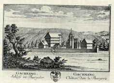 castle GACHNANG   Thurgau Thurgovie: Schloss Gachnang - château Gachnang