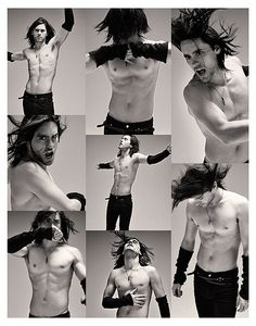 Jared Leto. If you haven't realized this guy is amazing then you can just turn around and walk away.