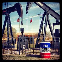 We hope you're as pumped about can of the week #20 as we are. Find it at the Petroleum Museum in Midland. #DMWT #DontmesswithTexas #Midland #Petroleum Museum