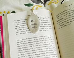 Fell Asleep Here Spoon Bookmark the by ForSuchATimeDesigns