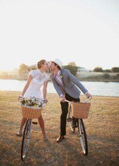 Boda sobre (dos) ruedas. Bicicletas a pleno en tu casamiento [Fotos]