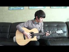 """Sungha http://www.sunghajung.com arranged and played """"Falling"""" by John Park."""