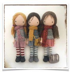 Little Doll Amigurumi Free Pattern – Free Amİgurumİ Crochet Amigurumidoll - Tablemate - Diy Crafts Doll Amigurumi Free Pattern, Knitted Doll Patterns, Doll Patterns Free, Knitted Dolls, Amigurumi Doll, Crochet Patterns, Pattern Ideas, Pattern Design, Easy Knitting Projects